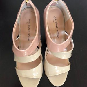 Julianne Hough for Sole Society nude heeled sandal